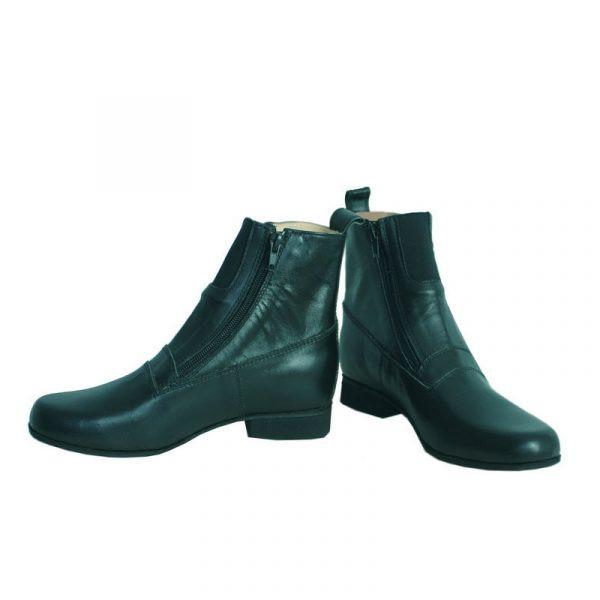 Ботинки с двумя молниями купить в интернет магазине конной амуниции